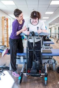 Neurologisk genoptræning ved lammelser i benene