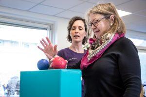 Genoptræning af lammelser i arm og hånd - efter blodprop i hjernen